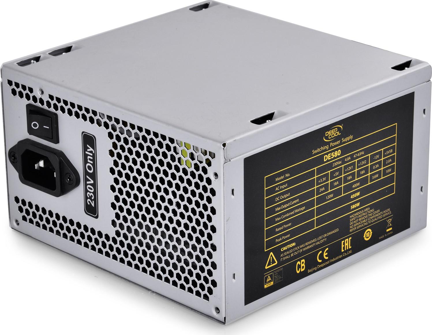 Deepcool Explorer Series DE580 580 Watts PSU