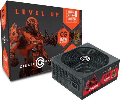 Circle CG 750W MODULAR 80 PLUS BRONZE 750 Watts PSU