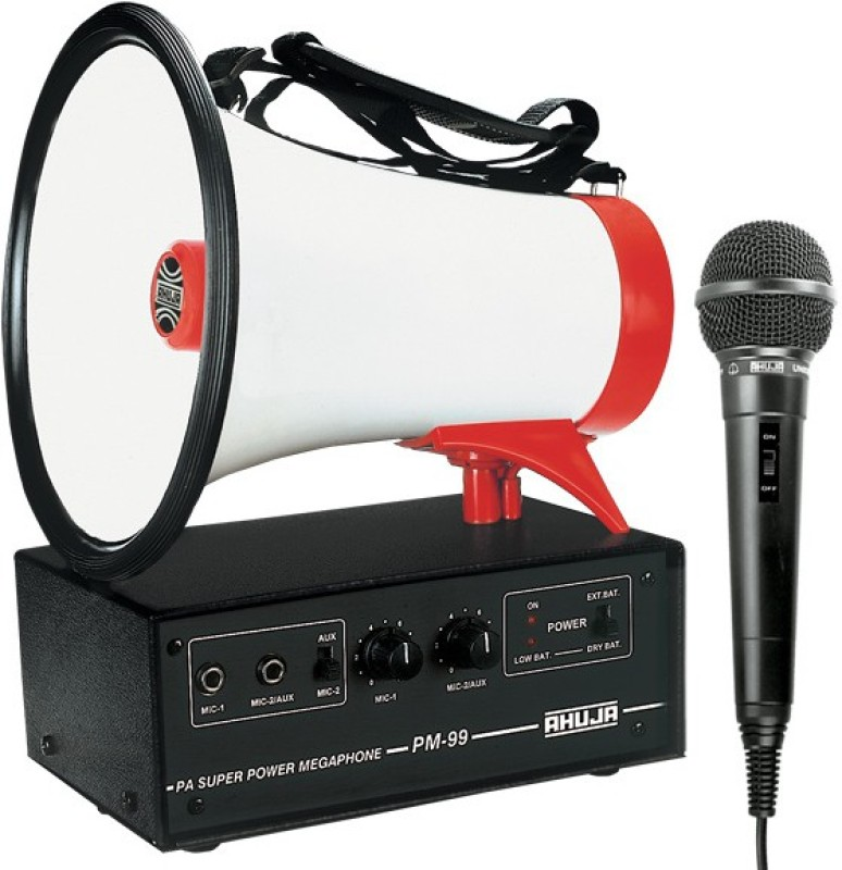 Ahuja PM-99 Indoor, Outdoor PA System(25 W)