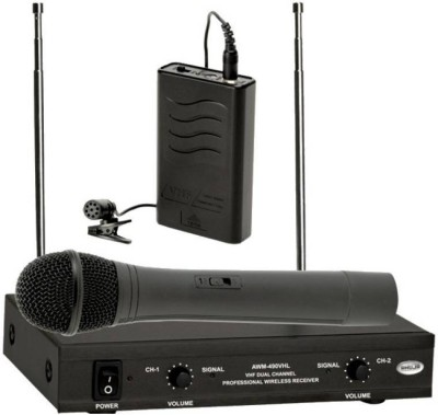 Ahuja AWM-490VHL AWM-490VHL HAND + COLLAR Microphone Indoor PA System(120 W)