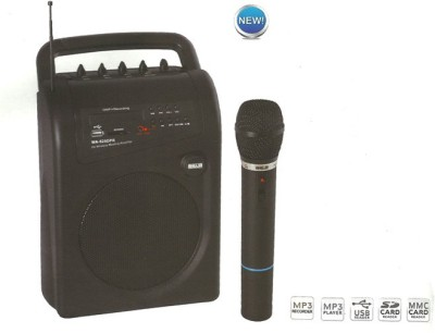 Ahuja Portable Pa Systems With Usb Input WA-625DPR Indoor, Outdoor PA System