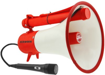 Krown P.A. Economical Handy Series General Purpose Megaphone with Microphone Megaphone-20 Indoor, Outdoor PA System(20 W)