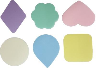 beauty studio Pack of 6 Imported Make up Cosmetic Conceler, Powder, Foundation Sponge