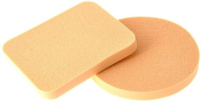 Out Of Box Pack of 2 Imported Make up Cosmetic Foundation Powder Puff Sponge