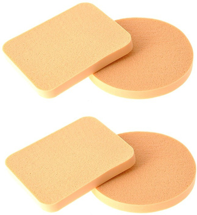 Out Of Box Pack of 4 Imported Make up Cosmetic Foundation Powder