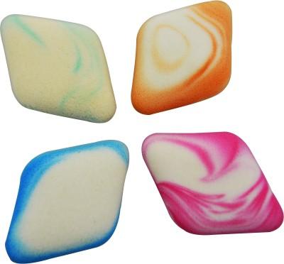 Forteens Multi Purpose professional Makeup puff Sponge (4 pec)