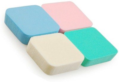 Out Of Box Pack of 4 Imported Make up Cosmetic Conceler, Powder, Foundation Sponge