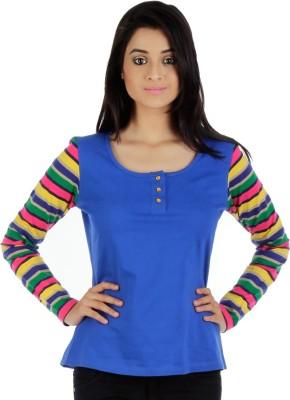 Vea Kupia Round Neck Striped Women's Pullover