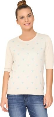 Amari West By INMARK Round Neck Printed Women's Pullover