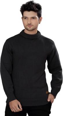 Stephen Armor Turtle Neck Solid Men's Pullover