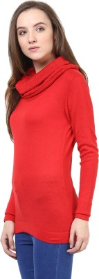 Rare Turtle Neck Solid Women's Pullover