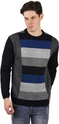 Freak,N by Cotton County Round Neck Checkered Men's Pullover