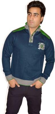 Fasholic Round Neck Self Design Men's Pullover