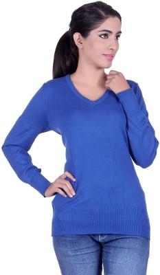 Deutz V-neck Solid Women's Pullover