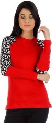 Vea Kupia Round Neck Printed Women's Pullover