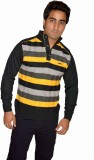 Fasholic Round Neck Striped Men's Pullov...
