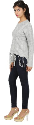 SHOPPERCHOICE V-neck Woven Women's Pullover