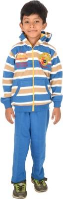 Shaun V-neck Striped Boy's Pullover
