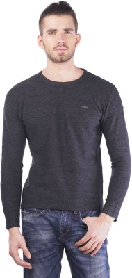 TSAVO Round Neck Checkered Men's Pullover