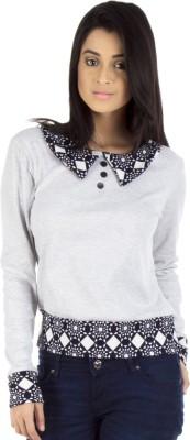 Vea Kupia V-neck Solid Women's Pullover