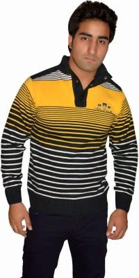 Fasholic Round Neck Striped Men's Pullover