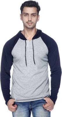 Demokrazy Round Neck Solid Mens Pullover