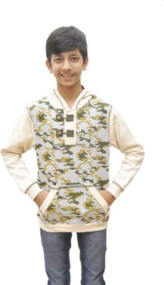 Just Chill Round Neck Printed Boy's Pullover