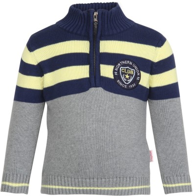 Wingsfield Turtle Neck Striped Baby Boy's Pullover