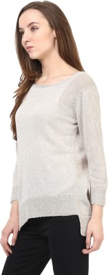 Rare Round Neck Solid Women's Pullover at flipkart