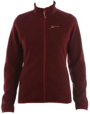 Quechua Turtle Neck Solid Women's Pullover