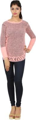 SHOPPERCHOICE Round Neck Printed Women's Pullover