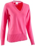Inesis V-neck Solid Women's Pullover
