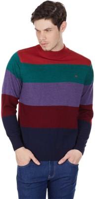 Monte Carlo Round Neck Striped Men's Pullover