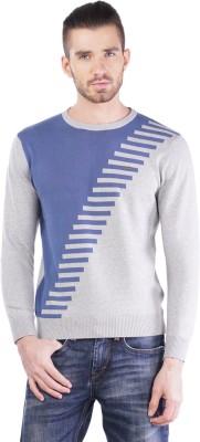 TSAVO Round Neck Argyle Men's Pullover