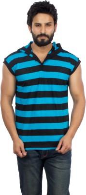 V3Squared V-neck Striped Men's Pullover