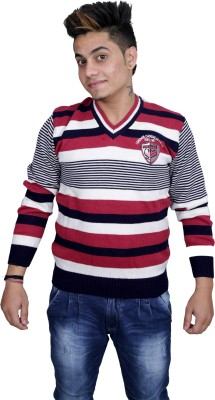 Marino Club V-neck Solid Men's Pullover