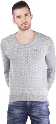 TSAVO V-neck Checkered Men's Pullover