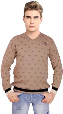 KRG Fashion V-neck Solid Men's Pullover