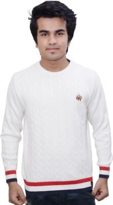 Being Dessi Round Neck Solid Men's Pullover