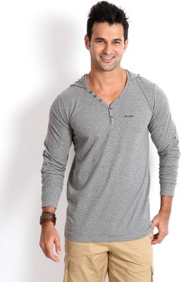 Rodid V-neck Solid Mens Pullover
