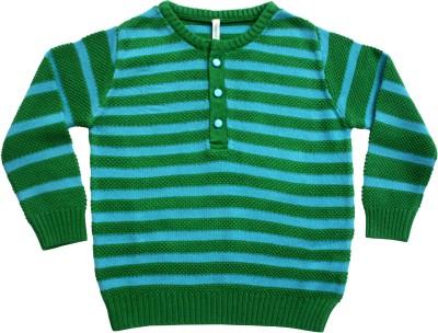 Campana Round Neck Striped Boy's Pullover
