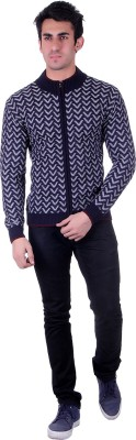 D.V. Saharan & Sons V-neck Checkered Men's Pullover