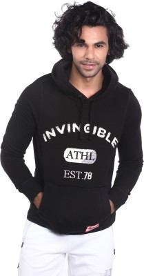 Invincible Round Neck Embroidered Men's Pullover