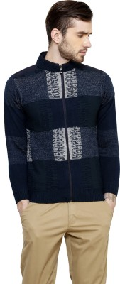 Freak,N by Cotton County Round Neck Self Design Men's Pullover