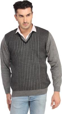 SPAWN V-neck Solid Men,s Pullover
