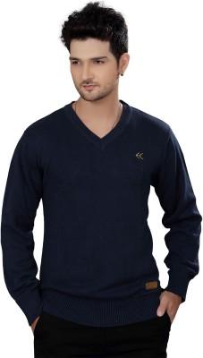 Stephen Armor V-neck Solid Men's Pullover