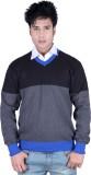Deutz V-neck Solid Men's Pullover
