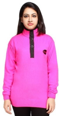 Sahas Round Neck Solid Women's Pullover
