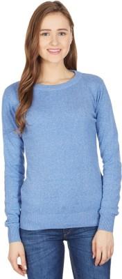 American Swan Round Neck Self Design Women's Pullover