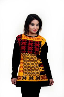 Laadli Ji Round Neck Printed Women,s Pullover